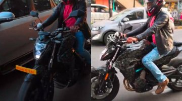 CFMoto 650NK spied in India; video footage captures the exhaust note