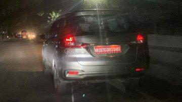 Maruti Ertiga 1.5L diesel spied on test
