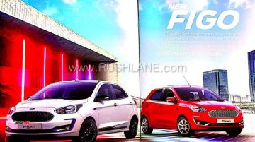2019 Ford Figo (facelift) brochure leaked