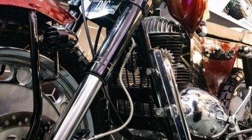Custom Motorcycle With 1967 Jawa 250 cc Engine - Image Gallery