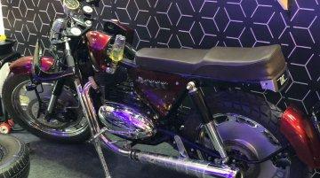 IAB Reader's custom motorcycle uses a 1967 Jawa 250 cc engine