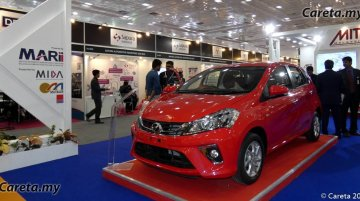 Perodua considering India entry, Myvi & Bezza showcased in Chennai