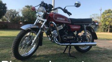 1986 Yamaha RD350 revived; gets Bajaj Avenger's disc brake