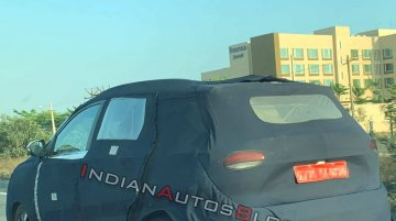 MG Hector road testing continues, spotted near its production site [Update]