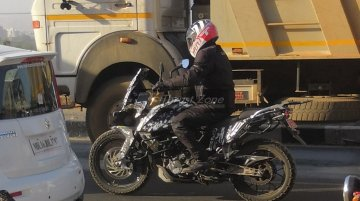 KTM 390 Adventure continues test runs; spied with pannier & top box mounts
