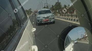 Renault RBC (Kwid-based 7-seater MPV) spied again