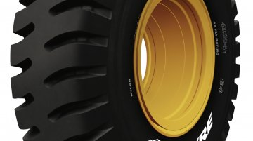 JK Tyre's VEM 045 enters Limca Book of Records as country's largest off-the-road tyre