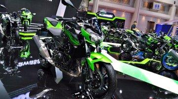 India-bound Kawasaki Z400 - BIMS 2019 Live