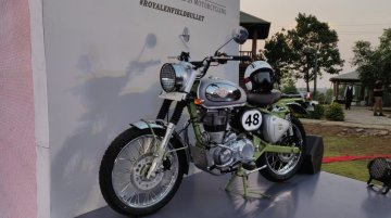 Royal Enfield Bullet Trials 350 & 500 launched in India