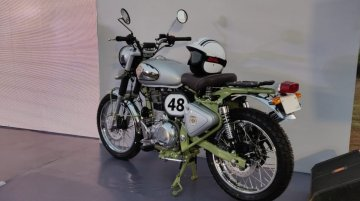 Royal Enfield Bullet Trials Works Replica heads to the UK