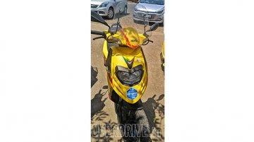 BS-VI compliant Aprilia SR scooter spotted in India