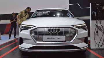 Audi e-tron showcased in India, on sale as early as late-2019