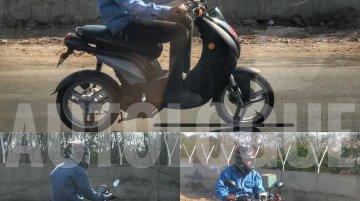 Peugeot e-Ludix spied in India