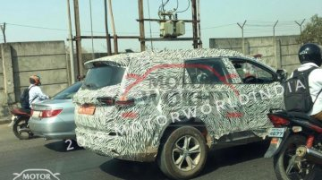 Tata Cassini (Tata Buzzard) spotted testing, Launch later this year