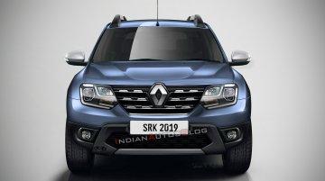 2020 Renault Duster (facelift) - IAB Rendering