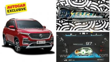 MG Hector to offer a petrol-hybrid variant, details revealed - Report