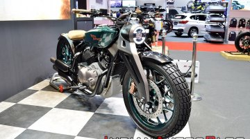 Royal Enfield KX Concept displayed at BIMS 2019