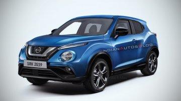 Next-gen 2019 Nissan Juke - IAB Rendering