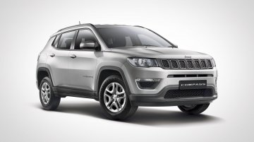 Jeep Compass Sport Plus launched, priced from INR 15.99 lakh