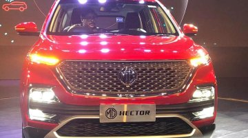 MG Hector showcased to dealers ahead of May launch