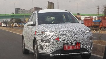 Hyundai Kona Electric spotted testing in Chennai, Launch later this year