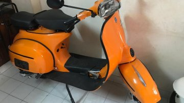 Restored Bajaj Chetak mimics Vespa Super