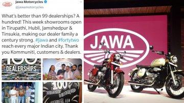 100th Jawa Dealership to be inaugurated this week