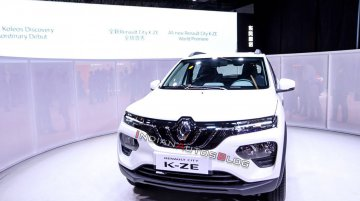Renault City K-ZE (Renault Kwid EV) unveiled at Auto Shanghai 2019