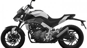Next-gen Haojue DR300 (Suzuki GSX-S300) seen in leaked patent images