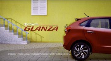 Toyota Glanza (reskinned Maruti Baleno) teaser video leaked online