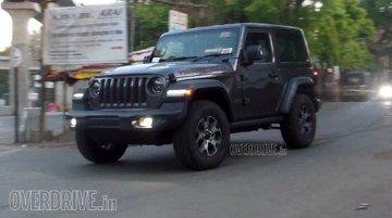 Jeep Wrangler (JL) Sahara spied testing in India