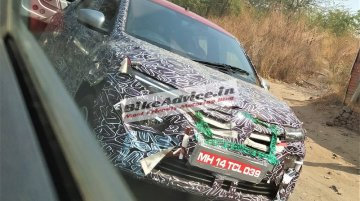 2020 Renault Kwid (facelift) makes spy photo debut