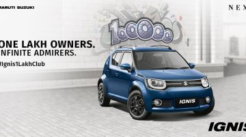 Maruti Suzuki Ignis touches 1 lakh sales milestone
