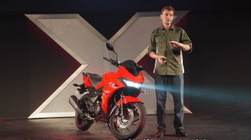 Hero Xtreme 200S launched in India, priced at INR 98,500