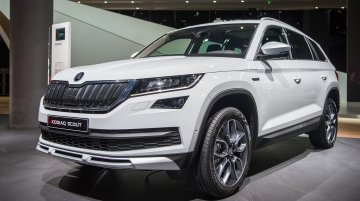 Skoda Kodiaq Scout confirmed for India, arriving in Q4 2019 - Report
