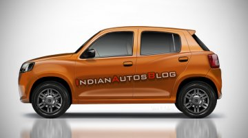 Next-gen Maruti Alto (production Maruti Future-S) - IAB Rendering