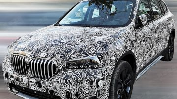 2019 BMW X1 (facelift) exterior and interior spied in China