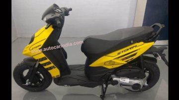 Bajaj Dominar 400 to Suzuki Hayabusa (GSX1300R) conversion by GM Custom