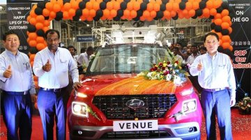 Hyundai Venue series production commences in India