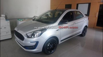 Ford Aspire Titanium Blu starts arriving at dealerships