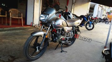 TVS Radeon spotted in a new Grey colour option [Video]