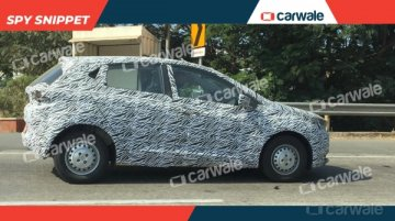 Base Tata Altroz with steel wheels spotted on test