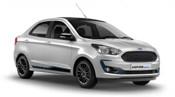 Ford Aspire Blu launched, priced from INR 7.50 lakh