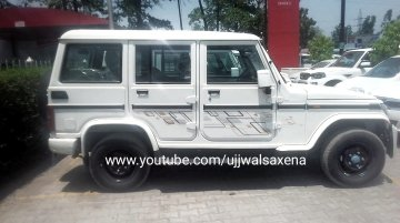 2019 Mahindra Bolero ABS spotted at a dealership