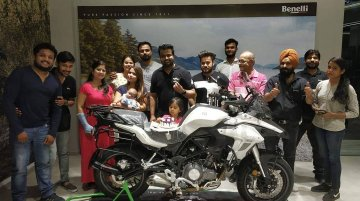 Benelli TRK 502 and TRK 502X deliveries commence