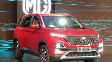 MG Hector pre-bookings open, test drives to be available from 15 June