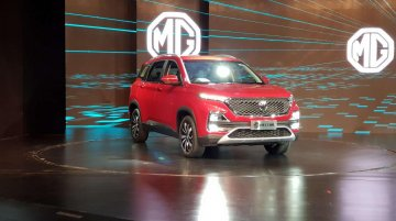 MG Hector officially unveiled in India ahead of June launch