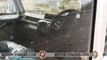 Mahindra Bolero spied with airbag and reverse parking sensors