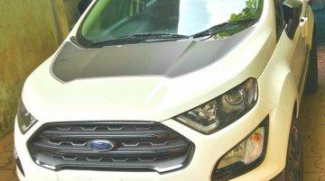 Ford EcoSport के थंडर एडिशन की फोटो लीक, जानें क्या है खास