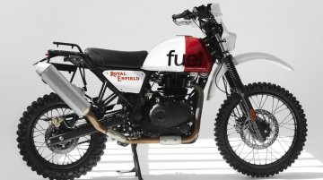 Modified Royal Enfield Himalayan - Image Gallery